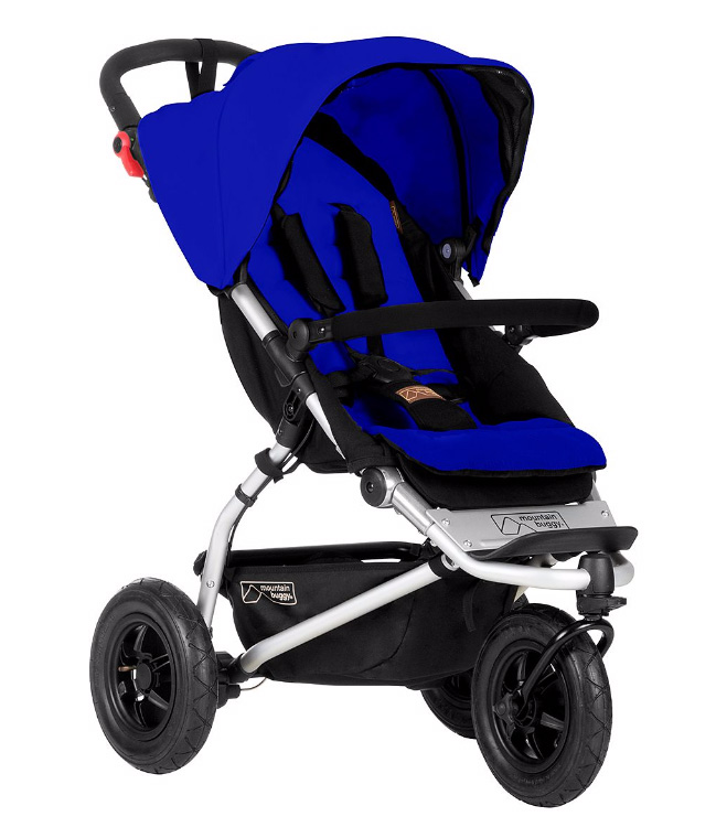Modern style baby stroller from