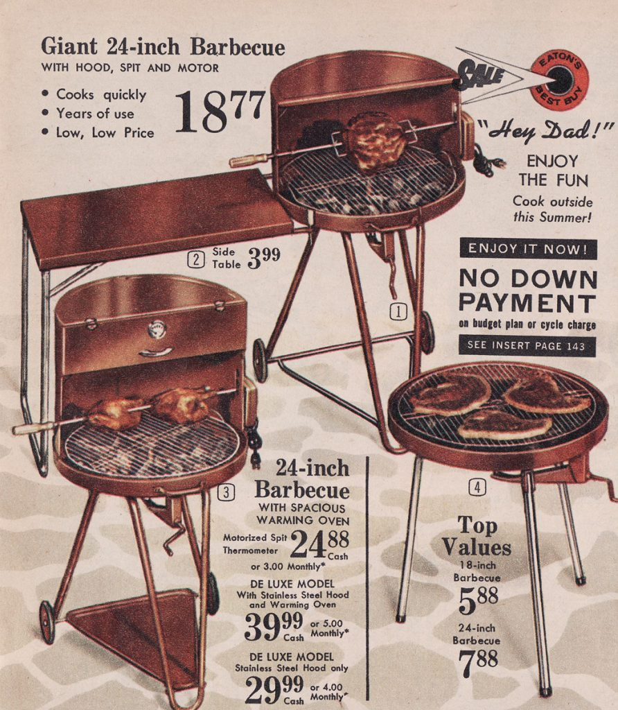Some barbecues from 1962.