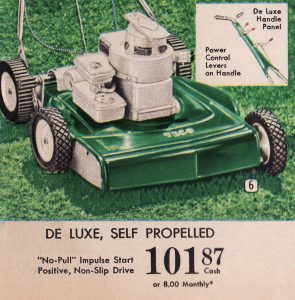 A self-propelled model from 1962